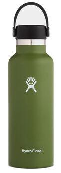 Hydro Flask Standard Mouth Isolierflasche grün