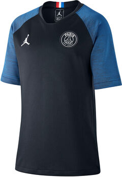 Nike Jordan x Paris Saint-Germain Strike Fußballtrikot schwarz