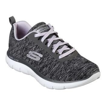Skechers Flex Appeal 2.0 Fitnessschuhe Damen grau