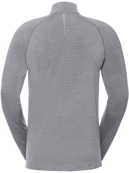 MILLENNIUM YAKWARM Langarmshirt mit Halfzip