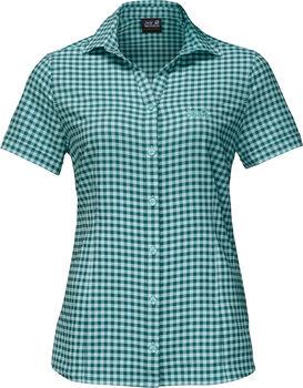 Jack Wolfskin Kepler Shirt Wanderbluse Damen grün