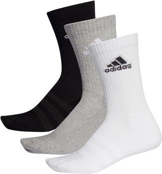 adidas Essentials Cushioned Crew Socken 3er-Pack grau