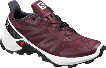 Salomon Supercross Traillaufschuhe Damen rot