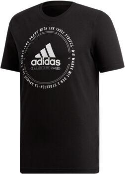 ADIDAS MH EMBLEM T-Shirt Herren schwarz