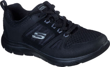 Skechers Summits New World Trainingsschuhe Damen schwarz