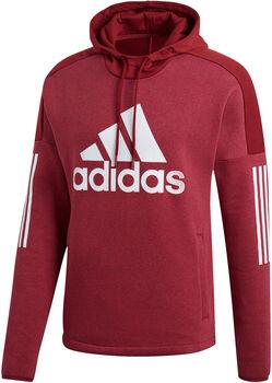 ADIDAS M SID LOGO PO FL Kapuzensweater Herren rot