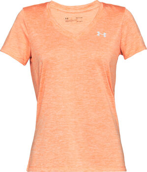 Under Armour Twisted Tech Trainingsshirt Damen orange