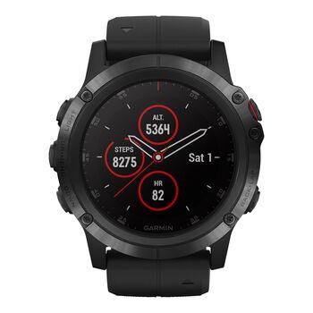 Garmin Fenix 5X Plus Multisport GPS Smartwatch schwarz