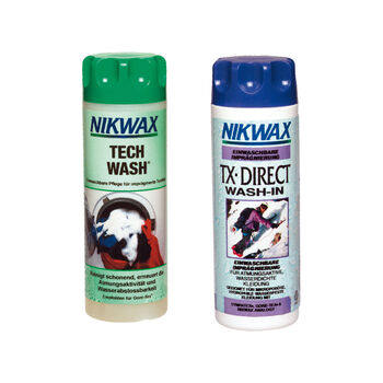 Nikwax Tech Wash + TX Direct Wash In weiß