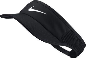 Nike Court AeroBill Featherlight Visor Damen schwarz