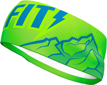 DYNAFIT Graphic Performance Stirnband grün