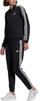 adidas 3S TR Trainingsanzug Damen schwarz