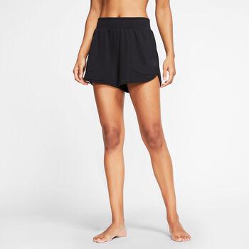 Nike Yoga Shorts  Damen schwarz