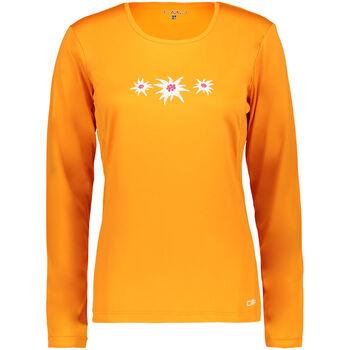 CMP Bergamo Langarmshirt Damen orange