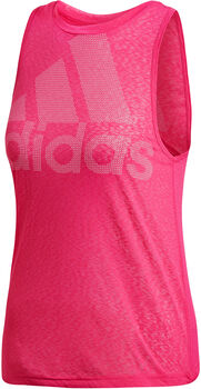 ADIDAS Magic Logo Tank Damen pink