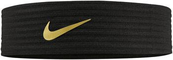 Nike Novelty Ribbed Stirnband schwarz