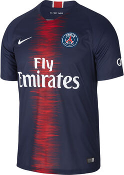Nike 2018/19 Paris Saint-Germain Stadium Home Fußballtrikot Herren blau