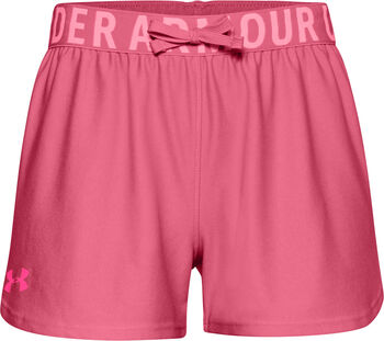 Under Armour Play Up Solid Shorts Mädchen pink