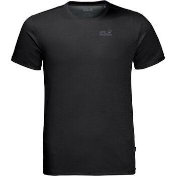 Jack Wolfskin Sky Range T-Shirt Herren schwarz