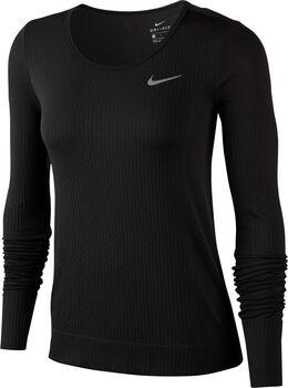 Nike Infinite Langarmshirt Damen schwarz