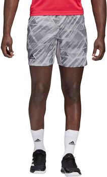 adidas Ergo Tennis Printed AEROREADY Shorts Herren grau