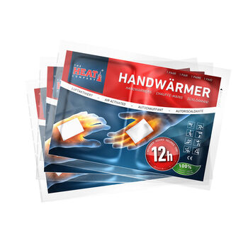The Heat Company THC Handwärmer 3er Pack weiß