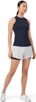 On Running Shorts. Laufshort Damen grau