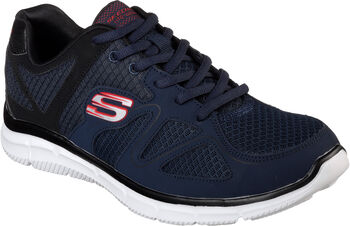 Skechers Satisfaction - Flash Point Fitnessschuhe Herren blau