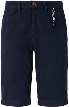 TOM TAILOR Chino Shorts Herren blau