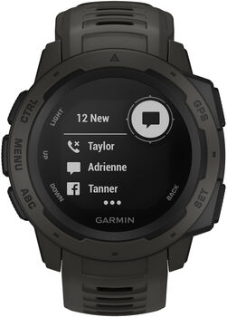Garmin Instinct Outdoor-Smartwatch grau