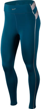 Nike Pro HyperWarm Tights Damen türkis