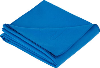 ITS Serviette Microfaser Handtuch blau