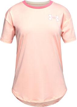 Under Armour HeatGear® T-Shirt Mädchen orange