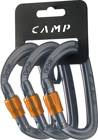 Orbit Lock 3er Pack Schraubkarabiner