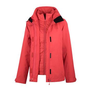 SCHÖFFEL Luanda 3in1 Jacke Damen pink
