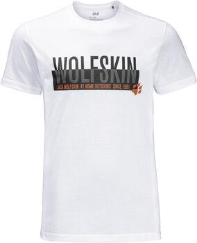 Jack Wolfskin Slogan T-Shirt Herren weiß