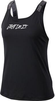 Nike W Nk Dry Tnk Elastik Damen schwarz