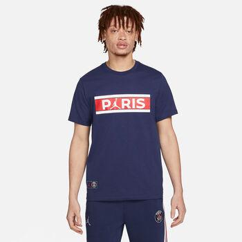 Nike Jordan PSG Tee Wordmar k. T-Shirt Herren blau