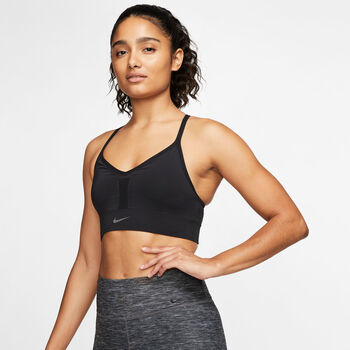 Nike Indy Seamless Sport-BH Damen schwarz