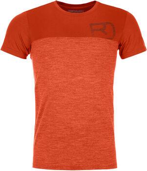 ORTOVOX 150 Cool Logo Ts T-Shirt Herren orange