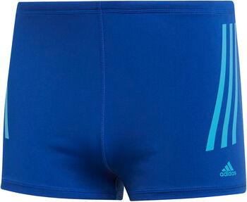 ADIDAS Pro 3-Streifen Boxer-Badehose Herren blau