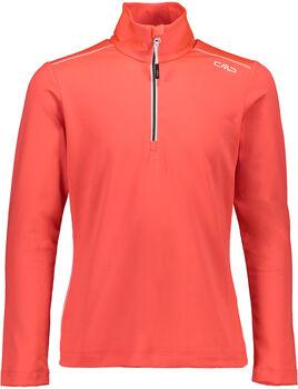 CMP Trentino Langarmshirt mit Halfzip orange