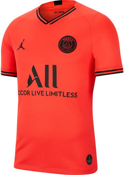 Nike Jordan x Paris Saint-Germain 2019/20 Stadium Away Fußballtrikot Herren rot