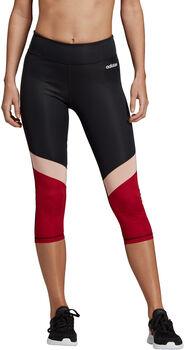 ADIDAS Design 2 Move Colourblock 3/4-Tights Damen schwarz