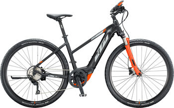 KTM Macina Pro Cross E-Crossbike Damen schwarz