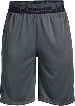 Under Armour Prototype Wordmark Short Jungen grau
