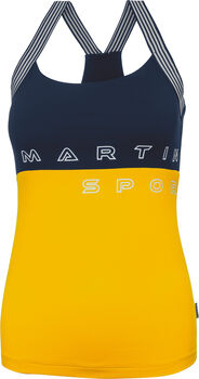 MARTINI Good Time Tanktop Damen gelb