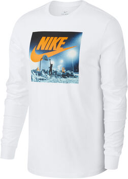 Nike Sportswear Langarmshirt Herren weiß