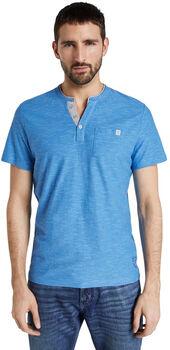 TOM TAILOR Fine Striped T-Shirt Herren blau