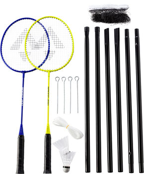 TECNOPRO Speed 200 2 Spieler Badminton-Set gelb